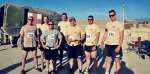 10 hour, 5-mile relay race...completed 50+ miles, first place of all the national guard units!